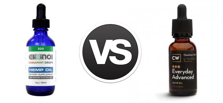 Elixinol vs. Charlottes Web Main Image