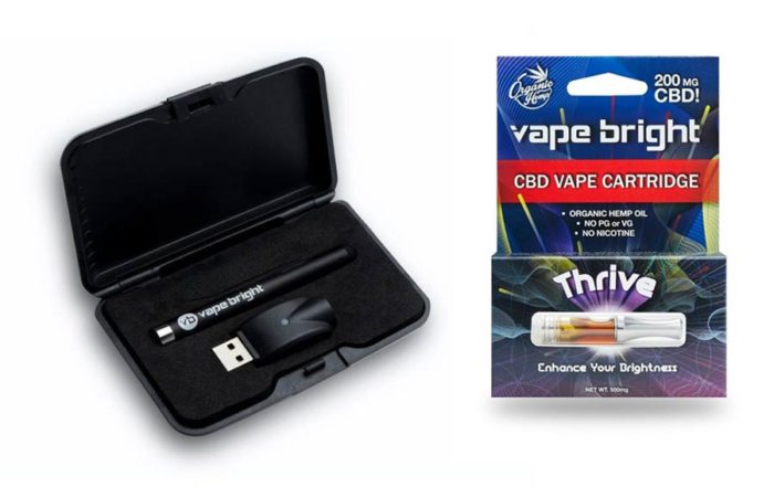 Vape Bright 2019 CBD Oil And Vape Pen Review