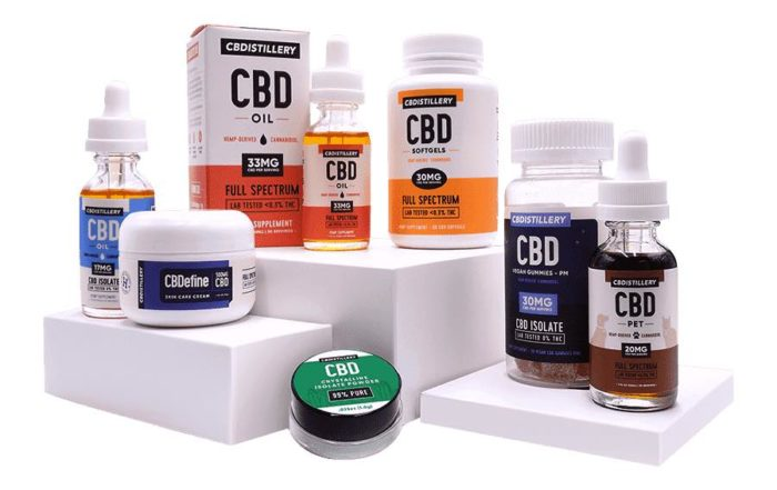 CBDistillery Oil And Products Review For 2019